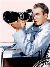 Sisustustarra  REAR WINDOW, James Stewart, 1954