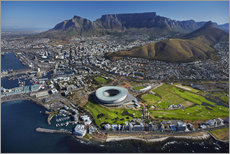 Sisustustarra  Cape Town Stadium and Table Mountain - David Wall