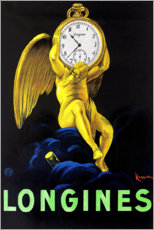 Canvas-taulu  Longinus-kellot - Leonetto Cappiello