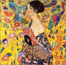 Galleriataulu  Lady with a Fan - Gustav Klimt