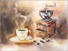 Sisustustarra  The smell of coffee - Jitka Krause
