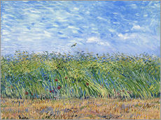 Sisustustarra  Corn field with poppies and partridge - Vincent van Gogh