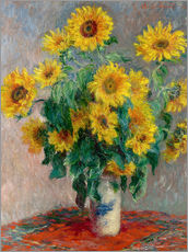 Galleriataulu  Sunflower bouquet - Claude Monet