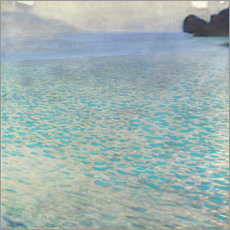 Canvas-taulu  On Attersee lake - Gustav Klimt