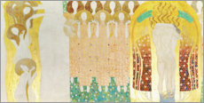 Canvas-taulu  This kiss for the whole world - Gustav Klimt