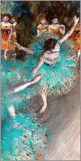 Juliste  Green Dancers - Edgar Degas