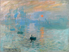 Galleriataulu  Sunrise - Claude Monet