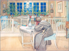 Sisustustarra  The Evening Before the Journey to England - Carl Larsson