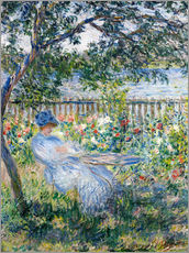 Sisustustarra  La Terrasse (The Terrace) - Claude Monet
