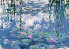 Juliste  Water Lilies - Claude Monet