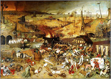 Galleriataulu  The Triumph of Death - Pieter Brueghel d.Ä.