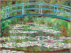 Sisustustarra  Waterlily pond - Claude Monet
