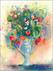 Galleriataulu  Strawberry bouquet - Jitka Krause