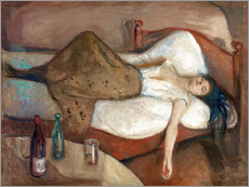 Sisustustarra  The day after - Edvard Munch
