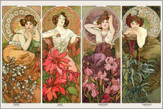 Sisustustarra  The jewels - Alfons Mucha