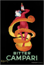 Juliste  Bitter Campari - Leonetto Cappiello