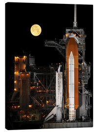 Canvas-taulu  Space shuttle Discovery