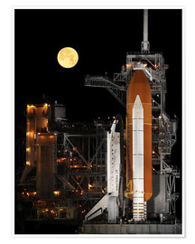 Juliste Space shuttle Discovery