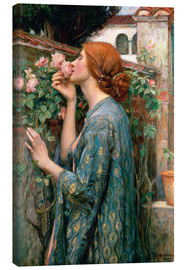 Canvas-taulu  The Soul of the Rose - John William Waterhouse