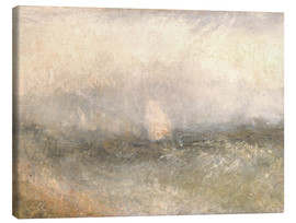 Canvas-taulu  Off the Nore: Wind and Water - Joseph Mallord William Turner