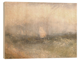 Puutaulu  Off the Nore: Wind and Water - Joseph Mallord William Turner