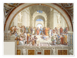 Juliste The School of Athens
