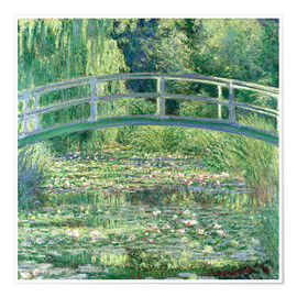 Juliste  Lummelampi - Claude Monet