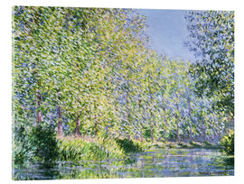 Akryylilasitaulu  Bend in the Epte River near Giverny - Claude Monet