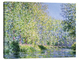 Canvas-taulu  Bend in the Epte River near Giverny - Claude Monet