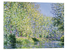 PVC-taulu  Bend in the Epte River near Giverny - Claude Monet