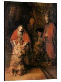 Alumiinitaulu  Return of the Prodigal Son - Rembrandt van Rijn
