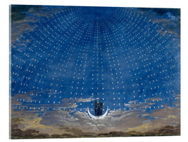 Akryylilasitaulu  The Palace of the Queen of the Night - Karl Friedrich Schinkel