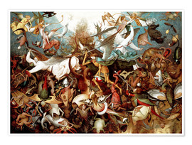 Juliste The Fall of the Rebel Angels