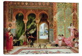 Canvas-taulu  A Royal Palace in Morocco - Constant