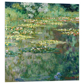 PVC-taulu  The Waterlily Pond - Claude Monet