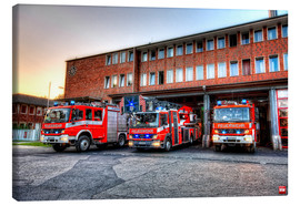 Canvas-taulu  Fire station in Germany - Markus Will