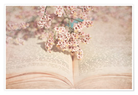 Juliste  The old book - INA FineArt