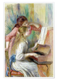 Juliste Young Girls at the Piano