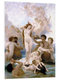 PVC-taulu  Birth of Venus - William Adolphe Bouguereau