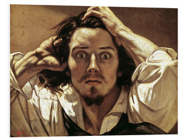 PVC-taulu  The Desperate, Gustave Courbet - Gustave Courbet