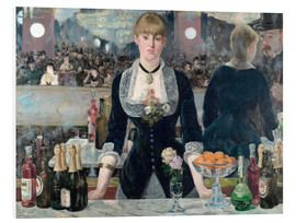 PVC-taulu  Bar at the Folies-Bergere - Edouard Manet