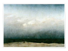 Juliste  Monk by the Sea - Caspar David Friedrich