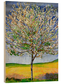 Puutaulu  Blossoming cherry tree - Ferdinand Hodler