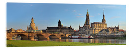 Akryylilasitaulu  Dresden Canaletto view - FineArt Panorama