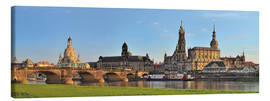 Canvas-taulu  Dresden Canaletto view - FineArt Panorama