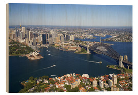 Puutaulu  Sydney skyline - David Wall
