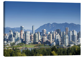 Canvas-taulu  Vancouver skyline - E. O. Reed