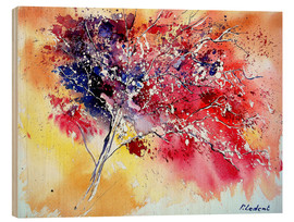 Puutaulu  Red tree - Pol Ledent