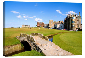 Canvas-taulu  Golf course in St. Andrews - Bill Bachmann
