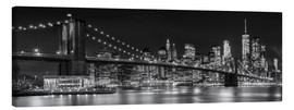 Canvas-taulu  New York City Skyline - Melanie Viola
